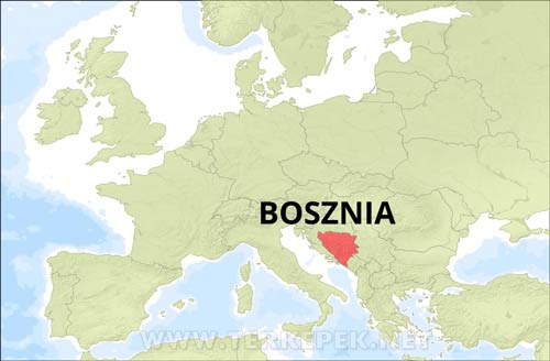 Bosznia Terkepek